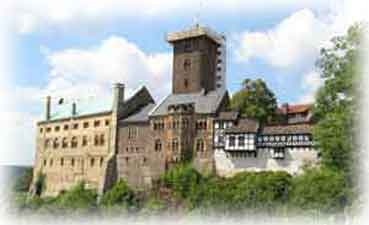 Wartburg Castle near Eisenach