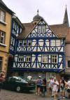 Blue House in Wertheim